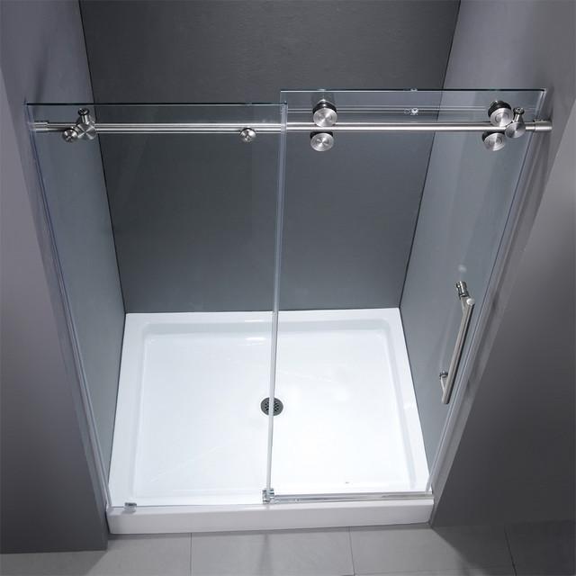 Contemporary Bathroom Doors: Casasdebanho.pt